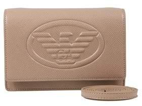 Emporio Armani Y3b086 Yh18a 80010 Nude Clutch Handbag.