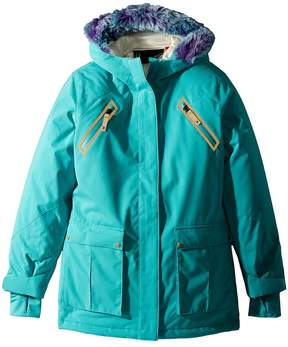 Spyder Bella Faux Fur Jacket Girl's Coat