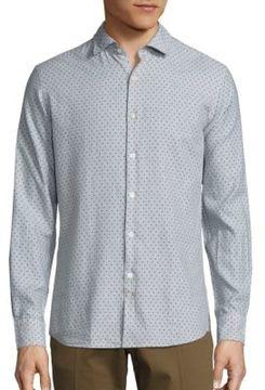 J. Lindeberg Daniel Slim-Fit Cotton Shirt