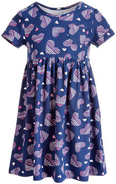 Epic Threads Little Girls Printed Pocket Dress, Created for Macy's