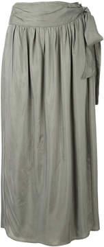 08sircus tie waist midi skirt
