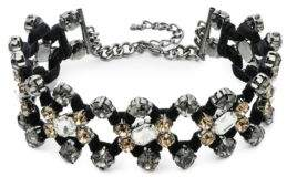 ABS by Allen Schwartz Smoke and Mirrors Crystal Choker