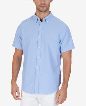 Nautica Men's Solid Oxford Shirt
