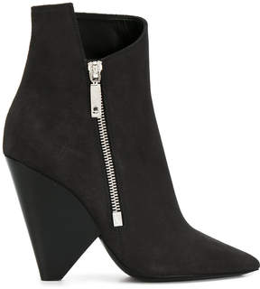 Saint Laurent Niki 85 ankle boots