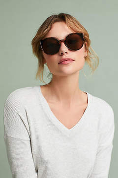Anthropologie Rosana Tortoise Sunglasses