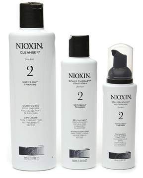 Nioxin Hair System Kit for Fine Hair, System 2: Noticeably Thinning