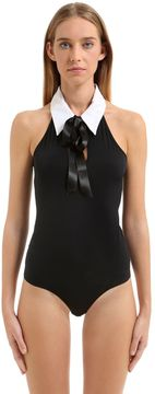 Chantal Thomass Coupe/Cousu Body Suit With Bow