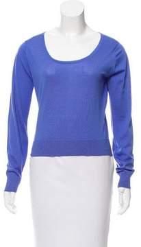 Agnona Wool Cropped Sweater