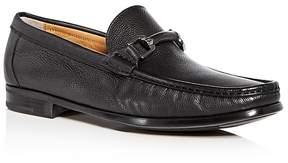 Bruno Magli Men's Salento Leather Moc Toe Loafers