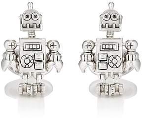 Jan Leslie Men's Robot Cufflinks