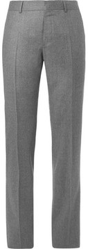 Caruso Slim-Fit Mélange Wool Trousers