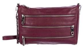 Rebecca Minkoff Moto 3-Zip Crossbody Bag