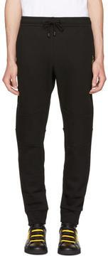 Fendi Black Jaguar Logo Lounge Pants