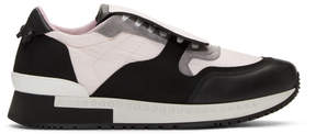 Givenchy Pink and Black Active Runner Sneakers
