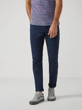 Frank and Oak The Lincoln Twill Pant in Dress Blue