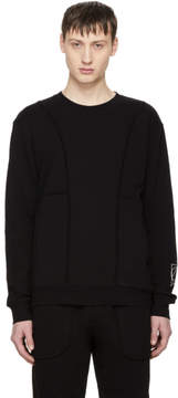 McQ Black Inside Out Sweatshirt