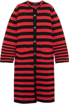 Etro Striped Knitted Cardigan - Red