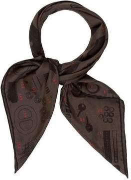 Hermes Atelier Cotton 70cm Scarf