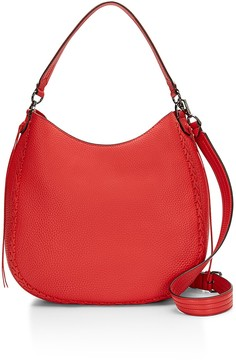 Rebecca Minkoff Unlined Convertible Boho Hobo Bag Whipstitch - ONE COLOR - STYLE