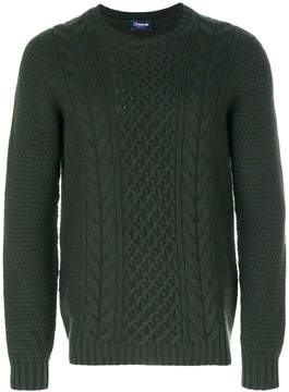 Drumohr textured cable knit sweater