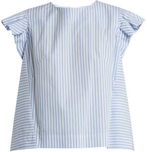 Stella Jean Striped cotton top