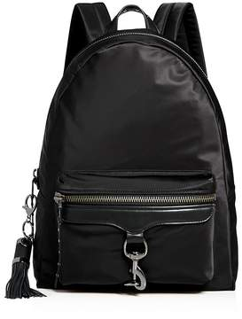 Rebecca Minkoff Always On MAB Nylon Backpack - 100% Exclusive - BLACK/GUNMETAL - STYLE