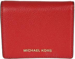 MICHAEL Michael Kors Mercer Wallet - ROSSO - STYLE