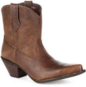Durango Women's Western Embossed Cowboy Boot