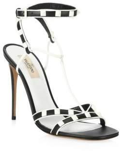 Valentino Free Rockstud Ankle-StrapSandal