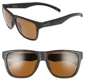 Smith Men's 'Lowdown' 56Mm Polarized Sunglasses - Matte Tortoise