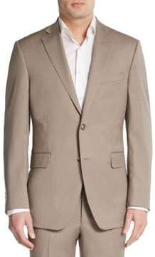 Saks Fifth Avenue BLACK Slim-Fit Wool Sportcoat