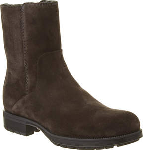 Aquatalia Locke Waterproof Suede Shearling Boot