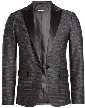 DSQUARED2 Blazer with Satin Lapels