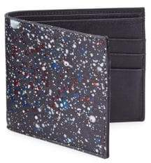 Maison Margiela Splatter Paint Leather Bifold Wallet
