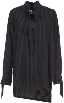 Aalto Oversized Striped Buckle Strap Shirt