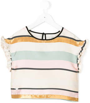 No Added Sugar Giggly cropped blouse
