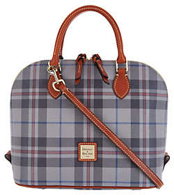 Dooney & Bourke Tiverton Plaid Zip Zip SatchelHandbag - ONE COLOR - STYLE