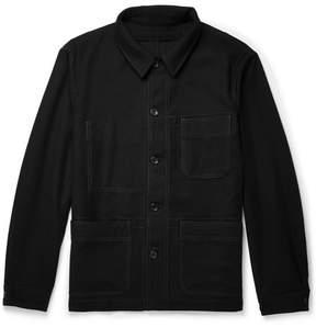 Joseph Abbots Washed Virgin Wool-Flannel Jacket