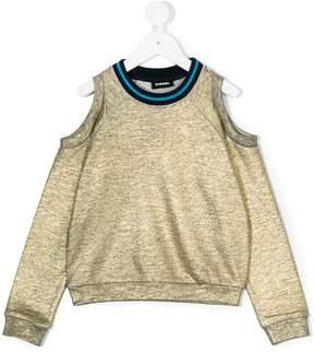 Diesel off-shoulder sweatshirt