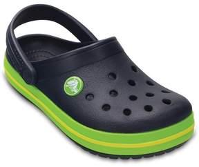 Crocs Tofflor, Kids Crocband, Navy/Volt Green