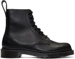 Dr. Martens Black Deconstructed Pascal Boots