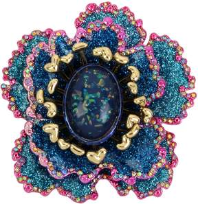 Betsey Johnson BLOOMING BETSEY FLOWER PIN