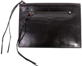 Rebecca Minkoff Regan Leather Pouch - BLACK - STYLE