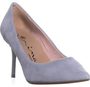 Nina Originals Damsel Pointed Toe Pumps, Robins Egg.
