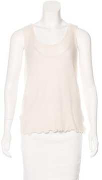 Magaschoni Cashmere Sleeveless Top w/ Tags