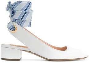 Rupert Sanderson ankle tie sandals