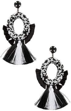 Deepa Gurnani Women's Fringe Tassel Statement Earrings