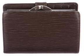 Louis Vuitton Epi French Purse Wallet