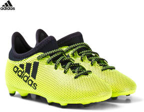 adidas Yellow X Tango 17.3 Firm Ground Football Boots