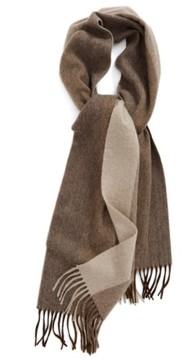 Nordstrom Men's Vertical Degrade Stripe Cashmere Scarf